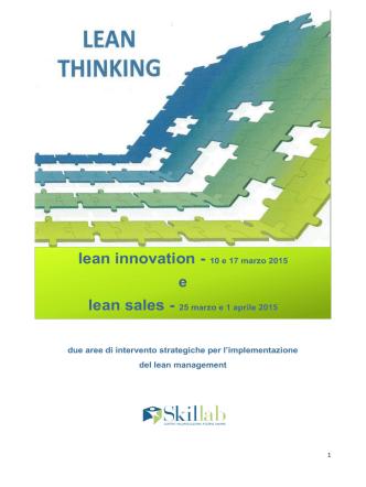 brochure lean innovation e lean sales