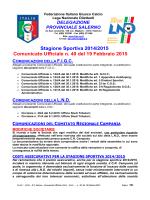 c.u. 40_ - FIGC