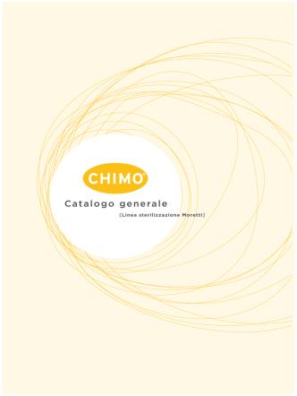 CHIMO – Linea Sterilizzazione Moretti