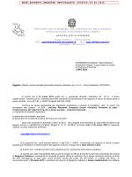 Circolare UST istanze part_time - Vicenza – Ufficio Scolastico