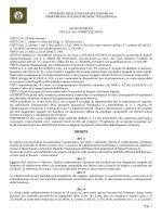 Rif. Co.Co.Co. DISMET/03/2015 - Università degli Studi di Napoli