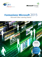 Formazione Microsoft 2015
