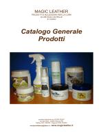 Catalogo Generale Prodotti