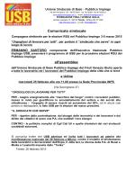 Comunicato sindacale assemblea 25 febbraio 2015 Udine
