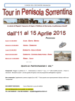 Tour in Penisola Sorrentina