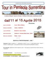 Tour in Penisola Sorrentina