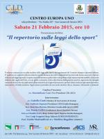 Repertorio Leggi Sport