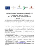 Bando Gara Pacchetti Turistici (16.02.2015)