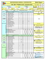 Match Report - 12th MHC Championship