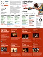 Giornata mondiale della Commedia dell`Arte