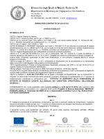 Rif. Metrics A)12 - Università degli Studi di Napoli Federico II