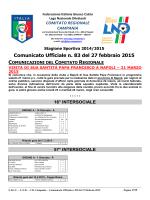 cu 83 2014-2015 - Comitato Regionale Campania