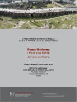 Roma Moderna I Fori e la Città - Associazione Bianchi Bandinelli