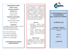 DEI PROFESSIONISTI NELL`AGIRE QUOTIDIANO. 25 febbraio 2015