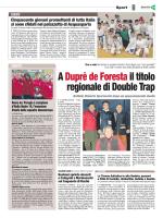 A Duprè de Foresta il titolo regionale di Double Trap