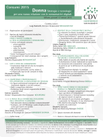 Consumi 2015 - CDV Conference Management