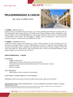 PELLEGRINAGGIO A CASCIA