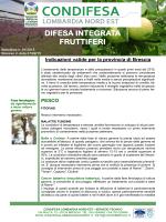 difesa integrata fruttiferi - Consorzio Lombardia Nord-Est
