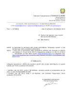 """iscrizioni - Istituto Comprensivo """"Giorgio Gaber"""""""