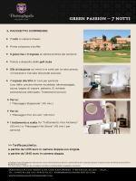 green passion – 7 notti - Donnafugata Golf Resort & SPA