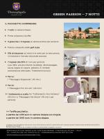 green passion – 7 notti - Donnafugata Golf Resort & SPA