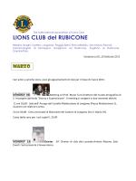 Marzo - Lions Club del Rubicone