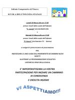 Invito ufficiale - Istituto Comprensivo di Vinovo