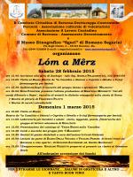 Lóm a Mêrz 2015 - museoetnosguri.it