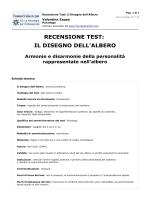 RECENSIONE TEST: IL DISEGNO DELL`ALBERO