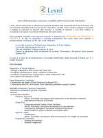 Corso di Formazione: memorie e notifiche nel Processo