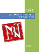 VADEMECUM SU COME VOTARE ALLE - Olivetti