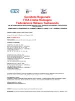 bando regionale29 marzo 2015 - FITA Comitato Regionale