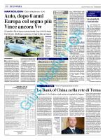 Estratto pubblicazione Quotidiano Nazionale