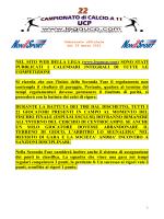 Comunicato ufficiale 22 - 03 marzo 2015_SACCA