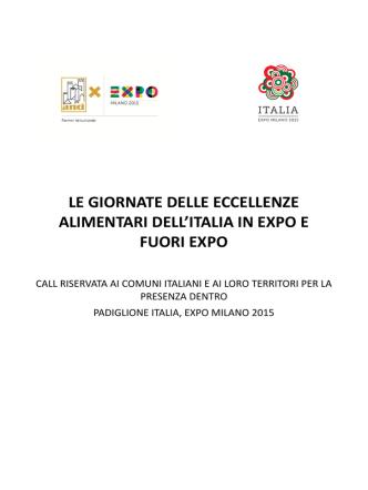 Call - Expo 2015