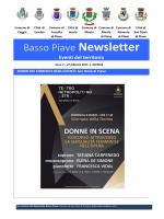 Basso Piave Newsletter - Comune di San Dona` di Piave
