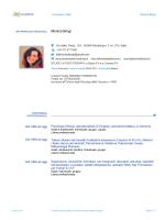 Curriculum Vitae Dott.ssa Monica Brogi