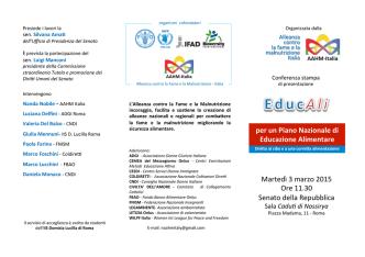 Brochure - Volontariato Lazio