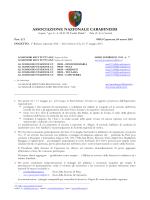 1° raduno regionale anc - sant`antioco 16 - 17 maggio 2015