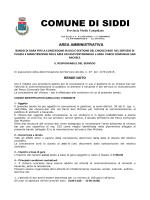BANDO DI GARA E ALLEGATI [file ]