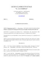 """LICEO CLASSICO STATALE """"G. LA FARINA"""""""