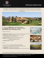 speciale pasqua 2015 - Donnafugata Golf Resort