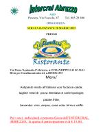 serata danzante 28 marzo - Cral Agenzia Entrate Abruzzo