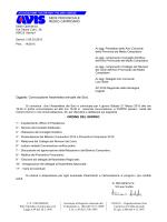 Lettera standard - AVIS Provinciale del Medio Campidano