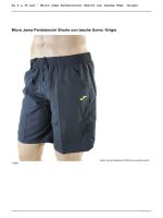 Pantaloni Sportivi : Micro Joma Pantaloncini Shorts