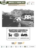Verifiche Tecniche Post Gara - Rally Valli della Carnia 2015