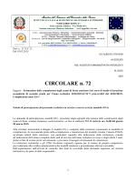 Compilazione mod. ES-1 – circolare n. 72