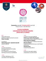 Unistem Day 2015 - Università degli Studi di Camerino