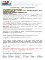 Elenco documenti - CAF UIL del Trentino