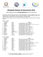 elenco completo - INAF - Istituto Nazionale di Astrofisica